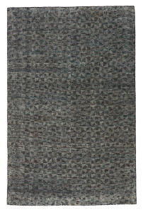 Ozark Blue Charcoal Area Rug
