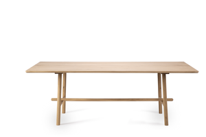 Light Oak Profile Dining Table