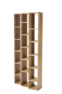 Suspend Light Oak Cabinet