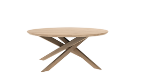 Oak Mikado Round Coffee Table - Multiple Shapes and Sizes