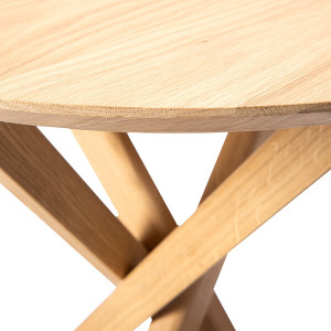 Alain Solid Oak Side Table