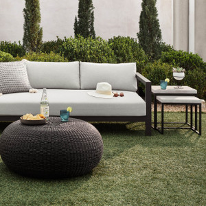 Maximus Concrete Outdoor Nesting Side Tables