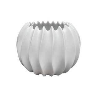 Regina Botanical White Porcelain Pot - Various Sizes