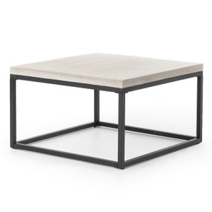 "Mason Concrete Coffee Table 30"" Square"