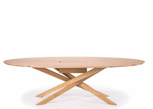 Oak Mikado Meeting Conference Table