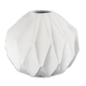 Brilliance Mango Wood White Centerpiece