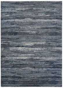 Theory Bandi Blue Grey Area Rug