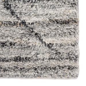 Kasbah Striated Gray Moroccan Rug