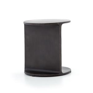 Rodney Round Iron Side Table