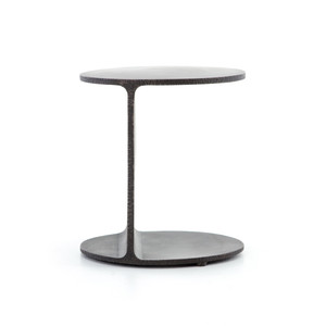 Rex Round Iron Side Table