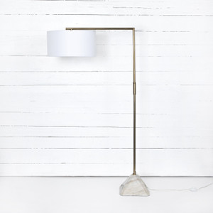 Patina Brass Floor Lamp