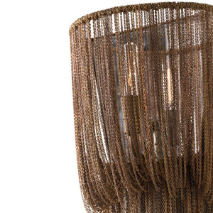 Alee Small Sconce Staggered Draped Chain