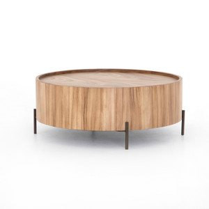 Luke Drum Coffee Table