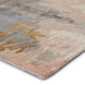 Soft Warm Neutral  Modern Area Rug
