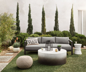 Oceanside Outdoor Sofa Collection - Black Bronze