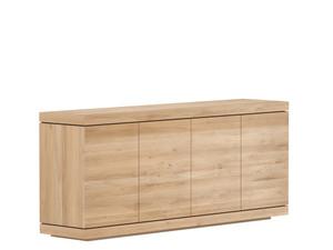 """Oak Burger Sideboard Buffet Cabinet 79"""""""