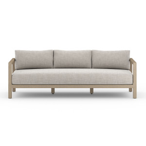 Oceanside Teak Outdoor Sofa - Washed Brown