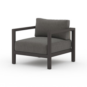 Oceanside Outdoor Lounge Chair - Black Bronze