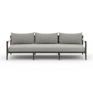 Silhouette Outdoor Sofa - Black Bronze