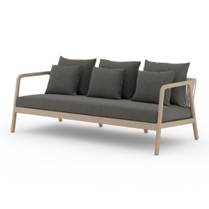 La Palma Teak Outdoor Sofas - Washed Brown