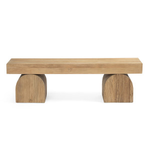 Kiara Bench Natural Elm Wood