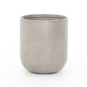 Baxter Round Concrete Planter