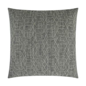 Chrome Quilted Throw Pillow