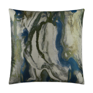 Marbella Throw Pillow - Azure