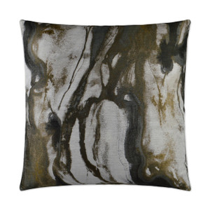 Marbella Throw Pillow - Quartz