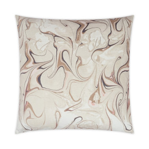 Oil Petal Throw Pillow
