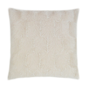 Ermelo Faux Fur Throw Pillow - Opal