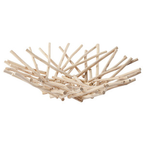 Bethe Stick Bowl Centerpiece - Natural