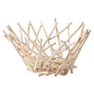 Bethe Natural Stick Bowl Centerpiece - Tall