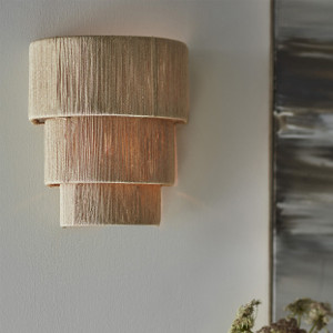 Abaca 3 Tiered Rope Sconce