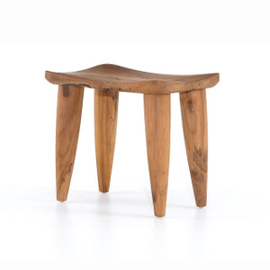Khate Teak Outdoor Stool Table