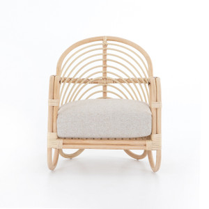 Rio Natural Cane Lounge Chair