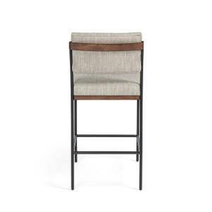 Benton Stool - Savile Flannel - Bar