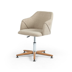Edna Desk Chair - Fedora Oatmeal