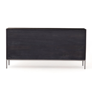 Trey 7 Drawer Dresser - Black Wash Poplar