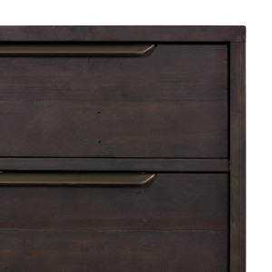 Seoul 3 Drawer Dresser - Dark Carbon