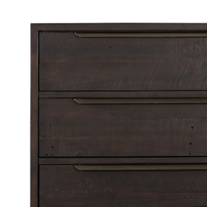 Seoul 5 Drawer Dresser - Dark Carbon