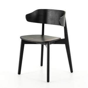 Lizzie Dining Chair - Black