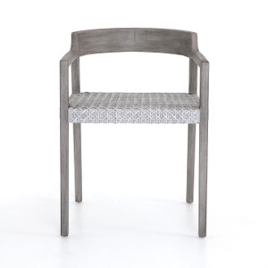 Enzo Outdoor Dining Chair-Weathered Grey