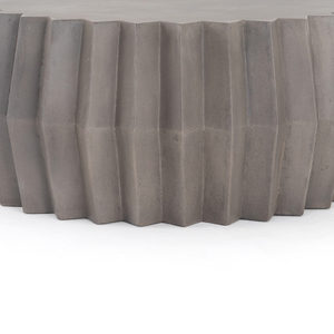 Gem Outdoor Coffee Table-Dark Grey