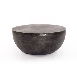 Benny Outdoor Coffee Table-Aged Grey
