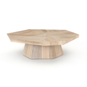 York Coffee Table - Ashen Walnut