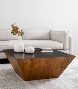Saxon Coffee Table - Natural Yukas Resin