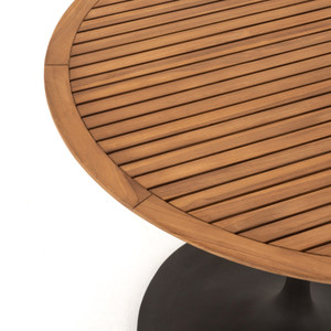 Reina Outdoor Bistro Table-Natural Teak