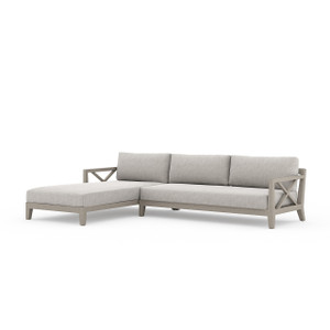 Hermosa 2 Pc Laf Sectional - Grey/ Stone