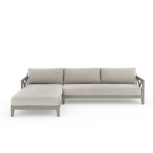 Huntington 2 Pc Laf Sectional - Grey/ Stone